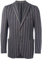 Eleventy woven stripe blazer - men - Cotton/Acetate/Polybutylene Terephthalate (PBT) - 48