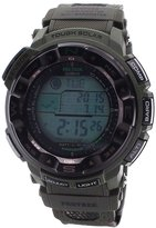 Casio Men's PRG250B-3N Black Resin Quartz Watch with Digital Dial