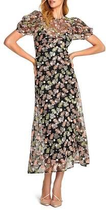 Alice McCall Celestial Creature Embroidered Midi Dress
