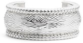 Simon Sebbag Women's Wide Leaf Pattern Cuff