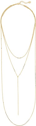 Argentovivo Layered Chain Necklace