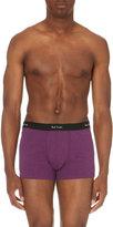 Paul Smith Melange Stretch-cotton Trunks