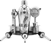 Sorbus Stainless Steel Home Cocktail Bar 10-Piece Set