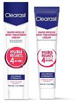 Clearasil Rapid Rescue Acne Spot Treatment Cream