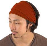 Casualbox mens Japanese Elastic Cotton Spandex Headband Neck Warmer