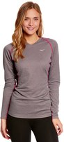 Mizuno Women's Breath Thermo Wool VNeck Running Top - 7531230