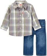 Levi's Woven Shirt & Jean Set (Baby Boys)