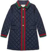 Gucci Children's nylon padded coat