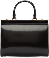 Simone Rocha Black Top Handle Box Bag