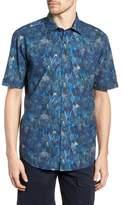Rodd & Gunn Chedworth Slim Fit Print Sport Shirt