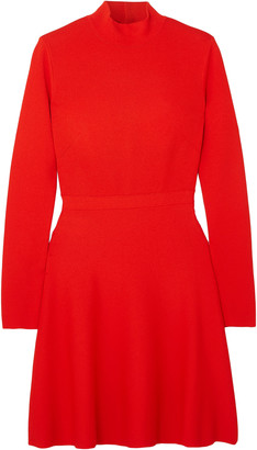 Givenchy Two-tone Crepe Mini Dress