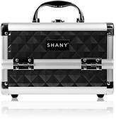 Shany Cosmetics Black Makeup Train Case with Mirror
