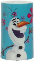 "3"" x 5"" Disney's Frozen Olaf Flameless Pillar Candle"