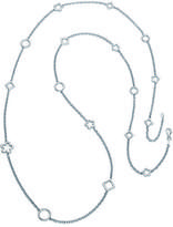 Sterling Silver Geometric and Clover Necklace by Boston Bay Diamonds