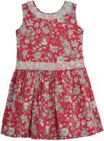 Granlei 1980 Red Floral Dress
