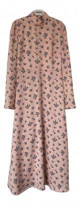 VIVETTA Pink Polyester Dresses