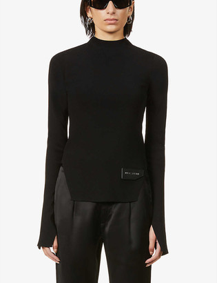 Alyx Brand-patch knitted jumper
