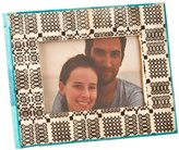 Shiraleah Hand Painted Picture Frame - Brown