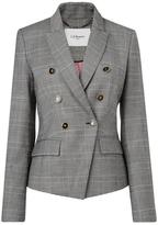 LK Bennett Neha Grey Wool Jacket