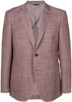 Durban D'urban melange single breasted blazer