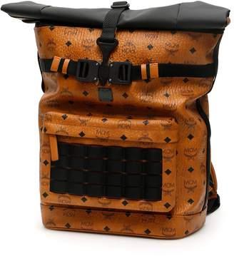 MCM Buckled Backpack