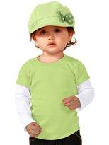 Kavio! Unisex Infants Two-fer Long Sleeve Top (Same I1P0538) 12M