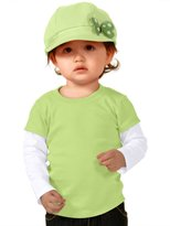 Kavio! Unisex Infants Two-fer Long Sleeve Top (Same I1P0538) 18M