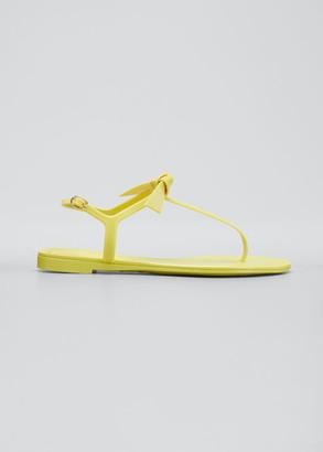 Alexandre Birman Clarita Jelly Thong Flat Sandals