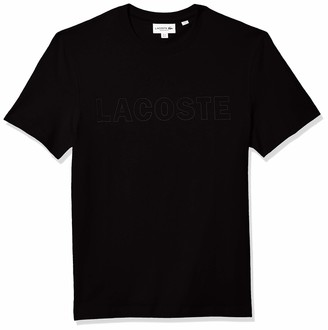 Lacoste Men's Short Sleeve Tonal Graphic Jersey T-Shirt