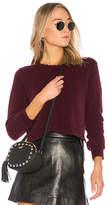 Autumn Cashmere Distressed Crop Sweater