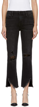 Frame Black Le High Straight Jeans