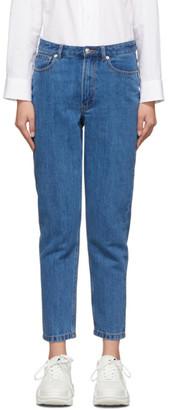 A.P.C. Indigo 80s Jeans
