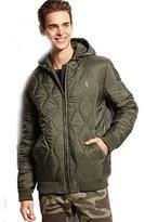 Wesc Men's Gerber Padded Hooded Jacket