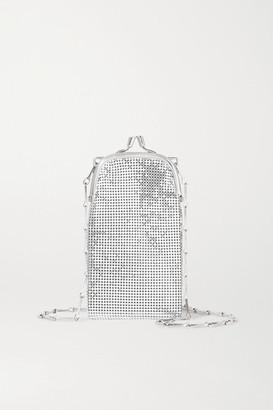 Paco Rabanne Pixel 1969 Mini Chainmail Shoulder Bag - Silver