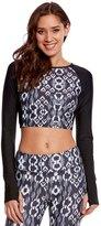 Jala Clothing SUP Rash Guard Yoga Crop Top 8156604
