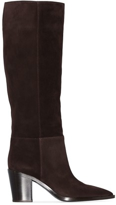 Gianvito Rossi Slouch 70mm Knee-High Boots