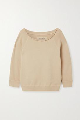 Nili Lotan Luka Cotton-jersey Sweatshirt - Beige