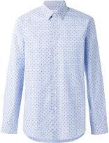 Jil Sander skulls print shirt - men - Cotton - 39