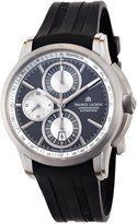 Maurice Lacroix Men's PT6188-TT031830 Pontos Pontos Black Silicone Strap Watch