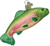 Old World Christmas Rainbow Trout Glass Blown Ornament