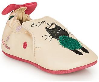 Catimini CALICETTE girls's Flip flops in Beige