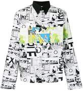 Prada comics print shirt