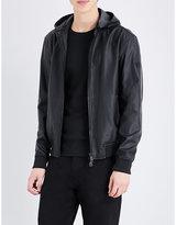 Armani Jeans Faux-leather Jacket