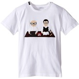 Dolce & Gabbana Patch Designers T-Shirt (Big Kids)