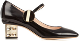 Nicholas Kirkwood Carnaby leather pumps