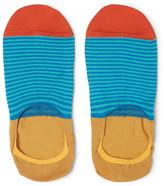 Paul Smith Mercerised Stretch Cotton-Blend No-Show Socks