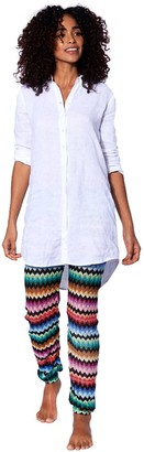 MC2 Saint Barth Multicolor Black Chevron Knitted Pants