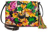 Patricia Nash Summer Evening Bloom Collection Van Sannio Tasseled Cross-Body Bag