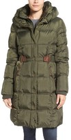 Larry Levine Quilted Down & Feather Fill Coat
