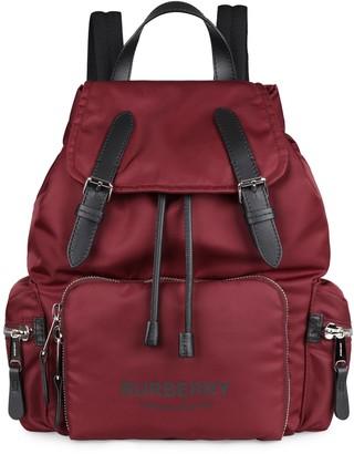 Burberry The Rucksack Nylon Backpack